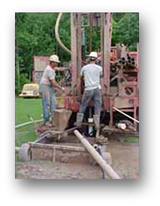 Able Well workers drilling
